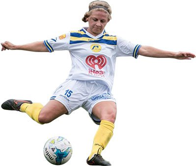 Rochester Lancers woman soccer player